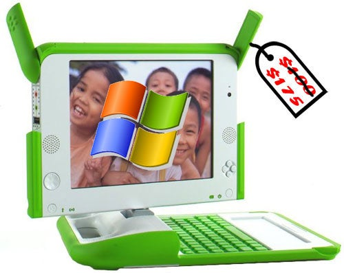 Microsoft's Special Windows XP for OLPC Runs Directly off of an SD Card
