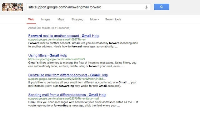 Find What You're Looking for on Google's Help Pages Instantly with a Search Operator