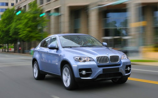 2010 BMW ActiveHybrid X6: The Most Powerful Hybrid Ever