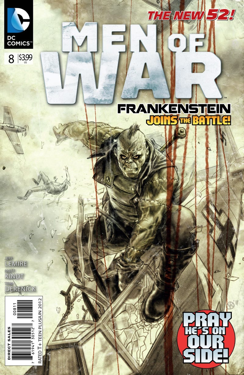 And now, Frankenstein dogfighting Nazis over London in 1941