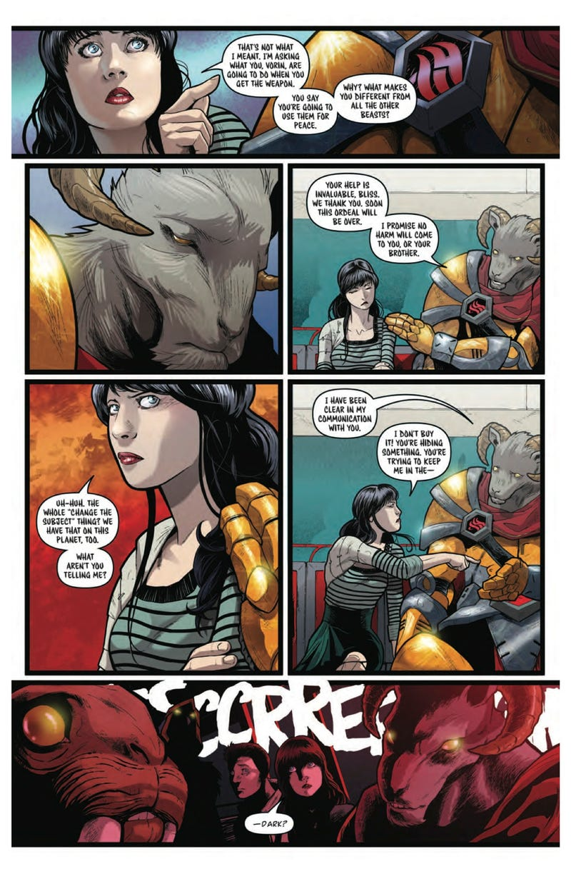 Monday Comic Preview: Cryptids Gone Wild and Battle Beasts