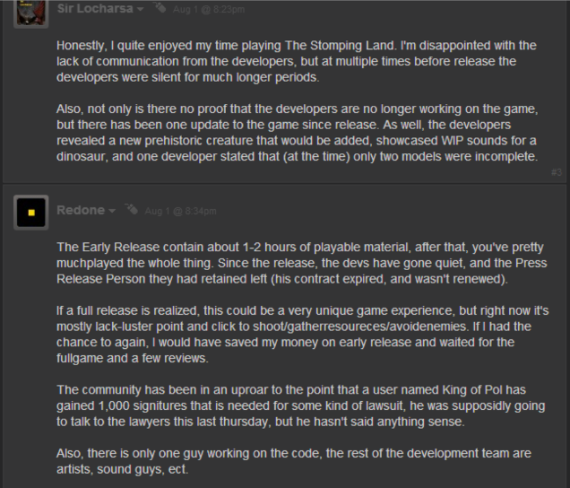 Relax, Steam's Big Dinosaur Game Isn't Dead