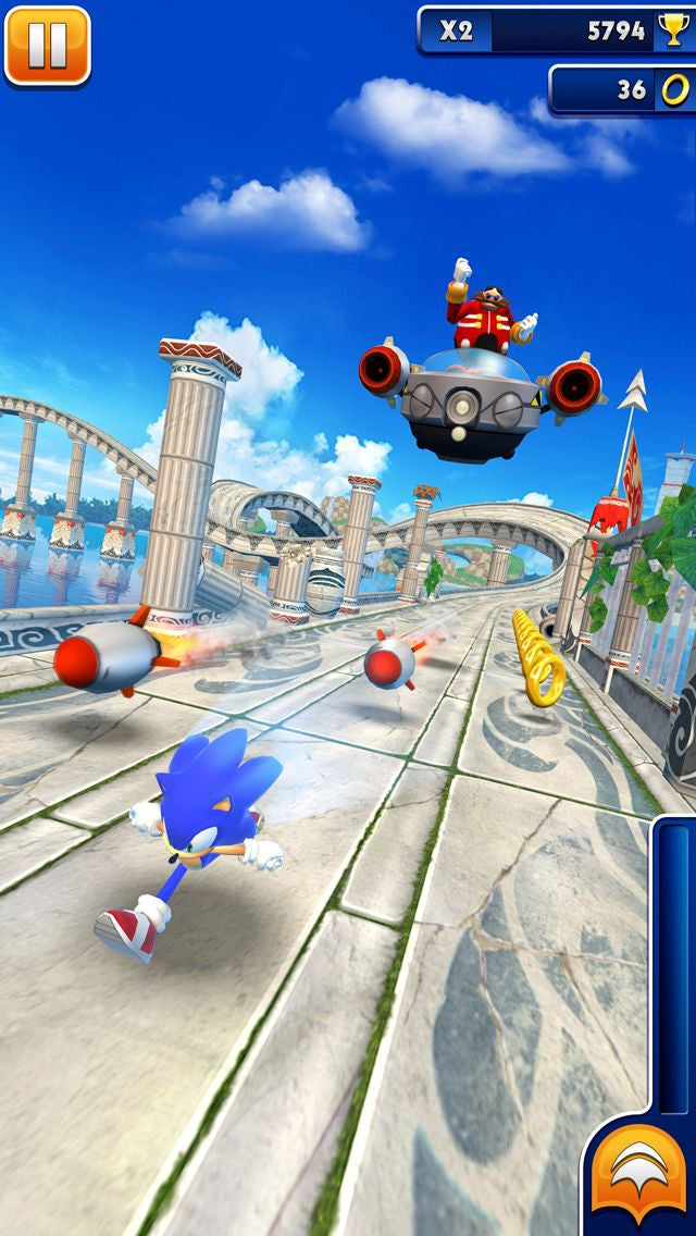 It Took Nearly A Year To Get To An Eggman Boss Fight In Sonic Dash