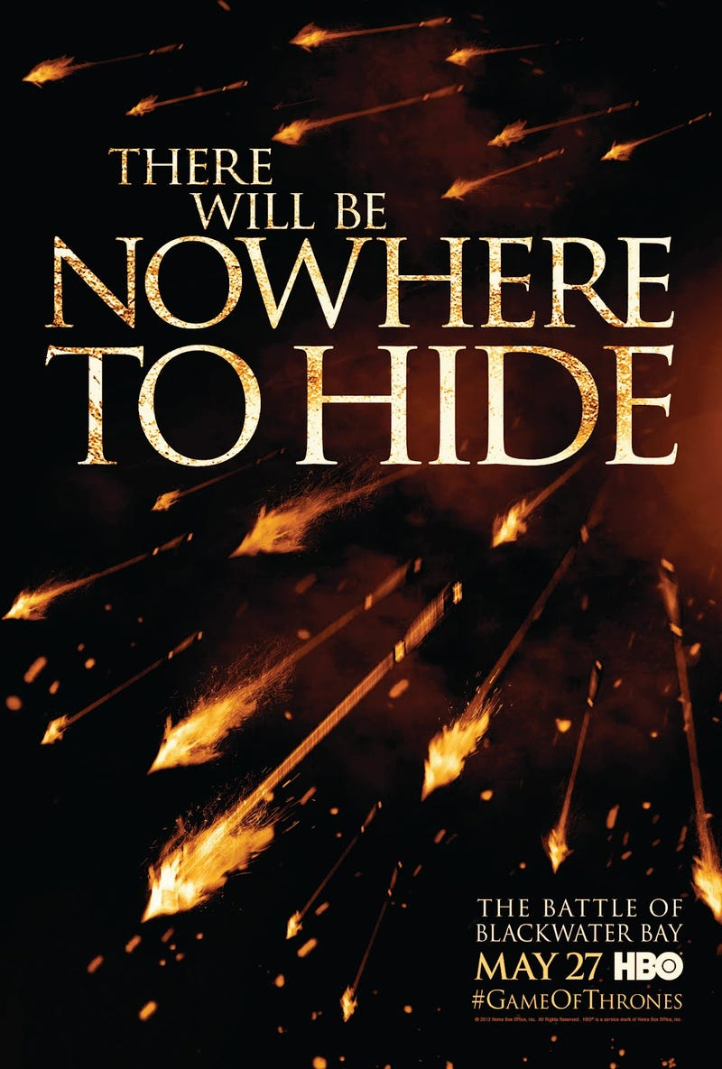 "New Game of Thrones ""Nowhere to Hide"" Poster"