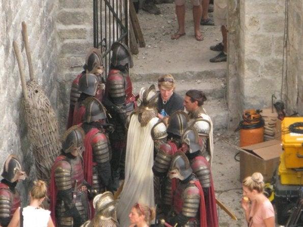Game of Thrones set photos
