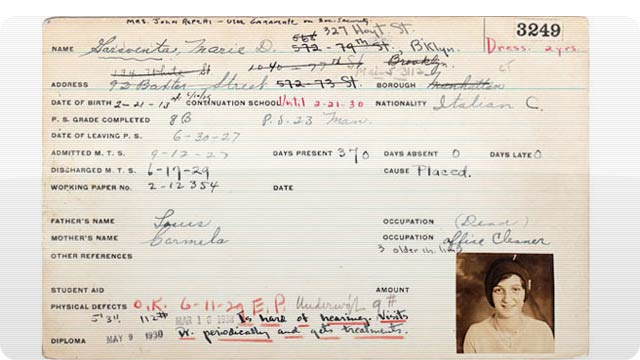 Will Your Facebook Page Resemble These Antique Report Cards in 80 Years?