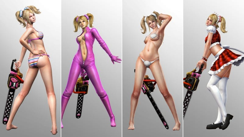 Lollipop Chainsaw Reveals Skimpy Outfits