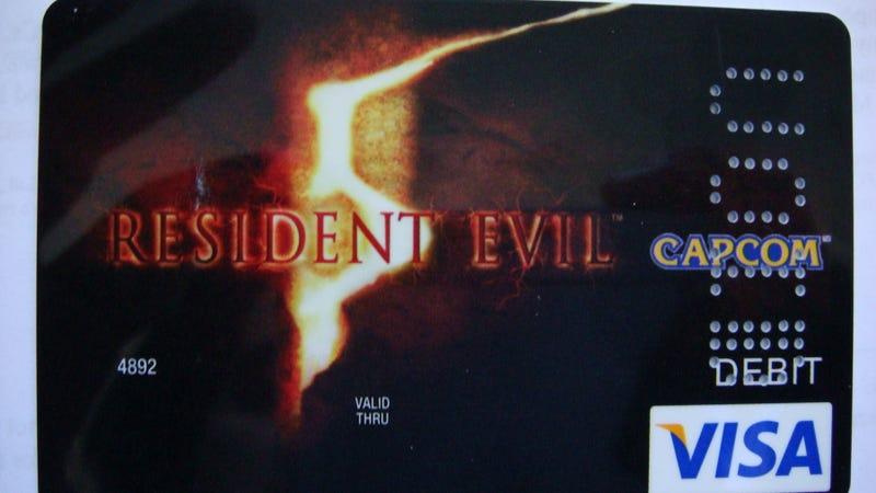 Capcom Debit Cards Come With Gamer Perks