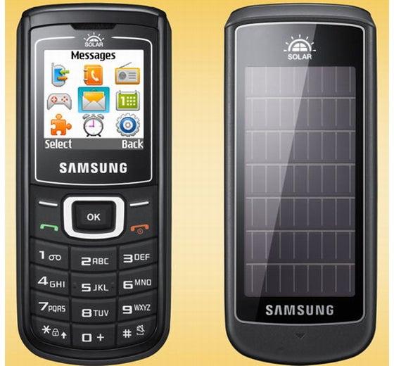 Samsung Crest E1107 Solar Cellphone: Sun-Powered, Dirt Cheap At $59
