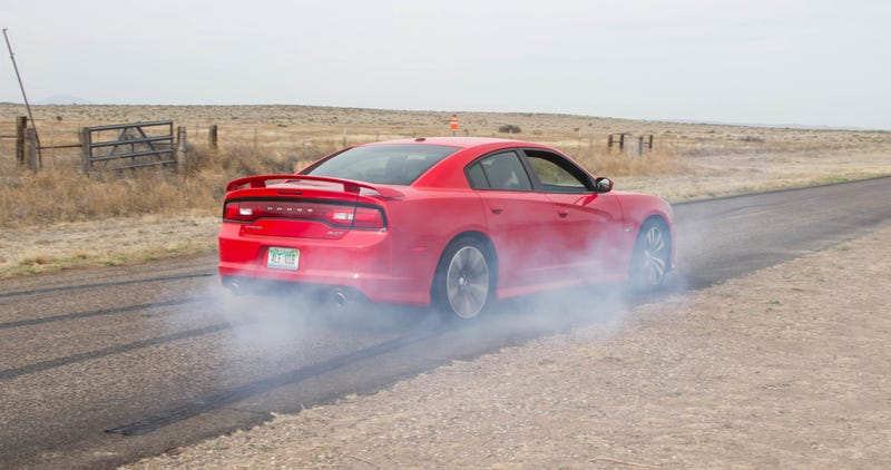 I Ripped Sick Charger SRT8 Wedding Burnouts For America