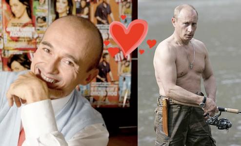 Italian TV Star Has Gay Crush On Vladimir Putin