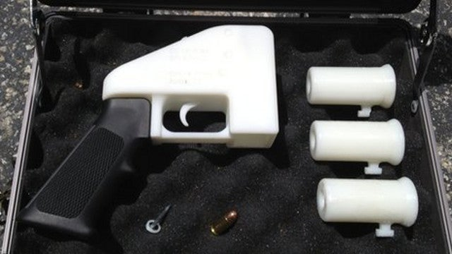 You can now 3D-print a fully operational handgun