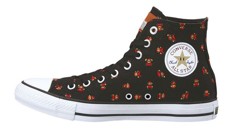 Celebrate Super Mario's 25th Anniversary With...Fancy Sneakers