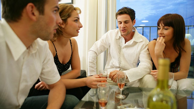 Plan a Jumping Off Topic For Meals with Coworkers