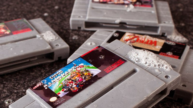 These Aren't SNES Cartridges