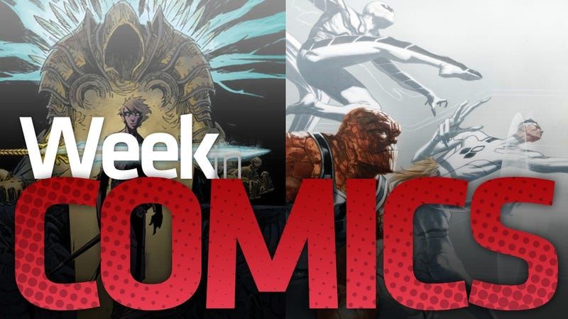 Fantastic Four #600, Diablo #1 and a Ron Paul Bio are Some of This Week's Most interesting Comics