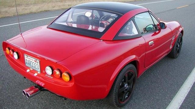 Custom bodied Miata for sale on Ebay