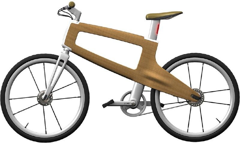 Jano, a Bicycle Built of Wood