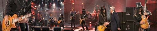 NBC Attempts to Edit Around Slash's Team Coco Pin