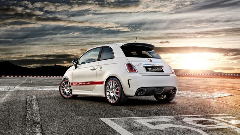 Fiat Abarth 595 Is A Delightful 180 Horsepower Italian With A 'Tude