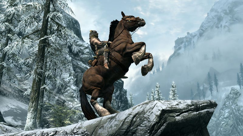 Pregnant Mom Fends Off Labor Long Enough to See Skyrim Demo [Updated]