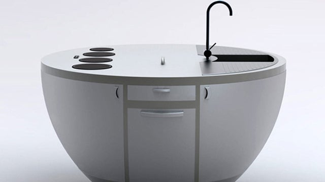 I Wouldn't Mind Being Marooned On This Kitchen Island