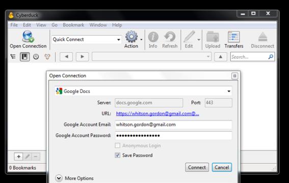 Cyberduck 4.0 Beta Released for Windows