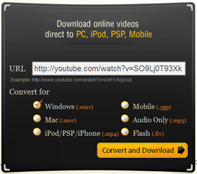 Save YouTube videos for any device with vConvert