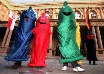 Boy Band Condoms Engage Gag Reflex