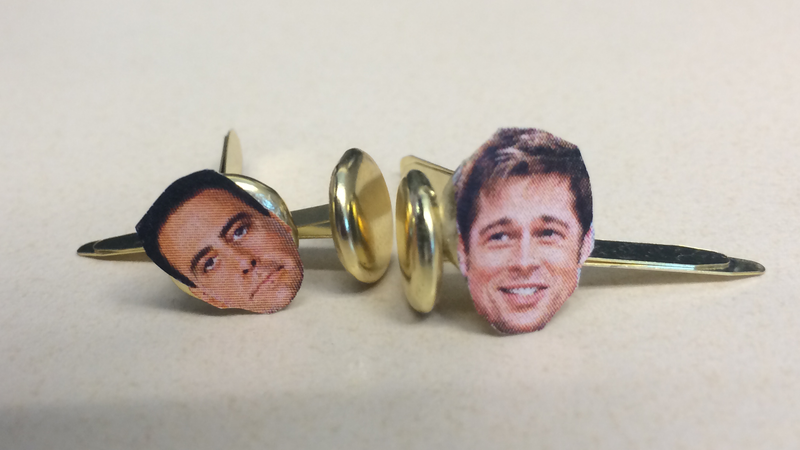 Made a few brads at work today...