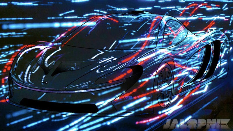 This Sketch Is Pretty Much What The McLaren P12 Will Look Like, Probably
