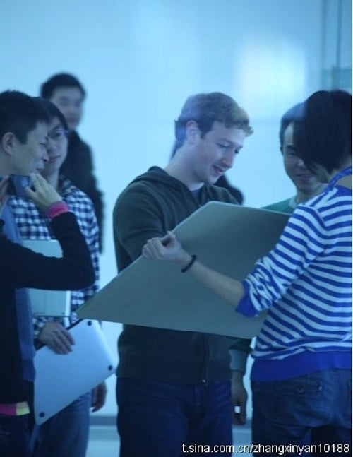 Microbloggers Stalk Mark Zuckerberg Around China