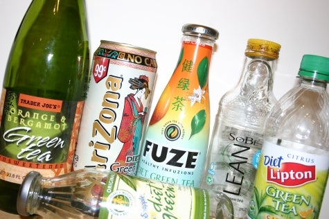 Rating the diet green teas
