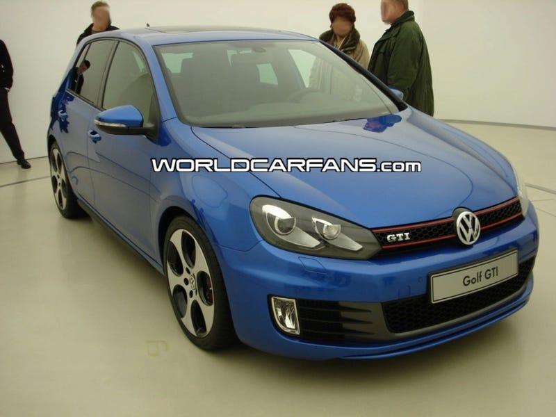 2010 Volkswagen Golf GTI MK VI: First Four-Door Production Photos