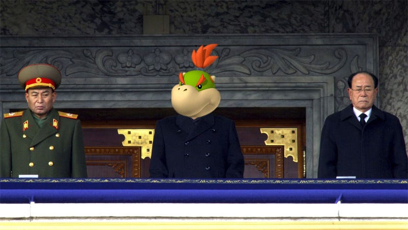 Real Life Bowser Jr. Trolls South Korea