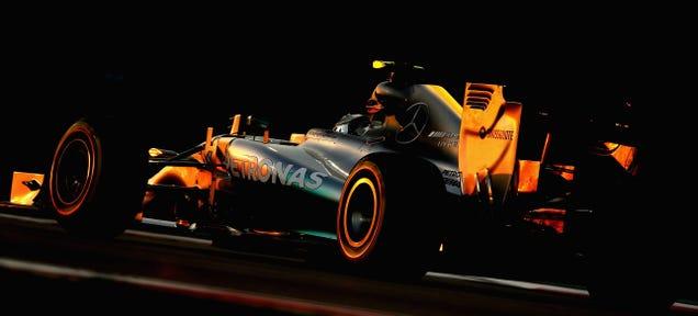 Nico Rosberg Takes Pole At Abu Dhabi Grand Prix