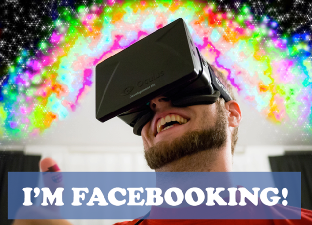 The Internet Reacts To Facebook Buying Oculus Rift