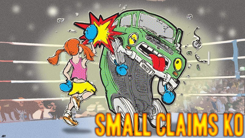 How You Can Sue An Automaker In Small Claims Court And Win