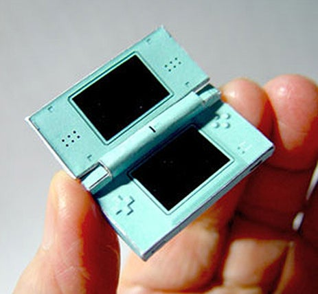 World's Smallest DS is Real Paper Mario