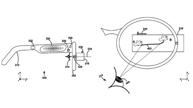 You Might Unlock Google Glasses With a Simple Eye-Roll