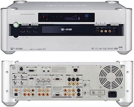 Toshiba RD-A1 HD DVD Recorder Ships in Japan