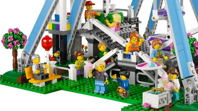 Lego's new Ferris Wheel will make you nostalgic for a carnival