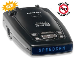 Passport Radar Detector Includes GPS With Speed Camera Database