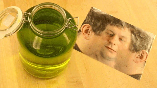 The best kitchen prank is putting a human head in a jar inside a fridge