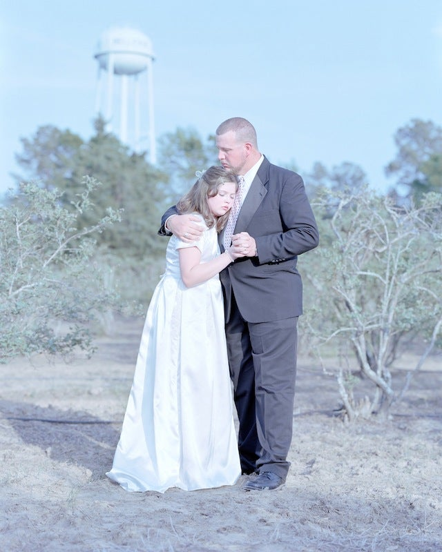Creepy Yet Gorgeous Portraits of Purity-Pledging Daughters and Dads