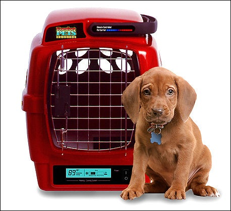 Komfort Pets Climate Controlled Crate Keeps K9 Cool (or Warm)