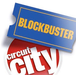 Blockbuster Drops Bid for Circuit City, Making Future For Both Unsure