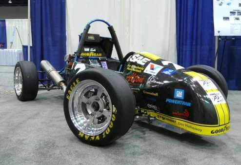 Students Show Off SAE Collegiate Design Series Racers