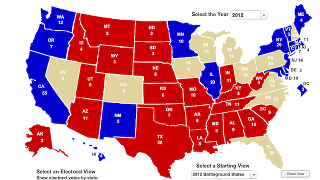 Show Us How You Think The Electoral Map Will Shake Out
