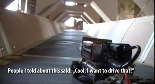 Gamer Creates Real-Life WipeOut Video Game With R/C Car